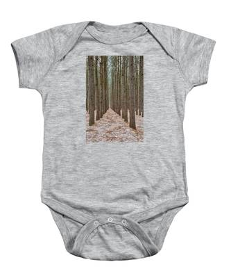 Peaceful Pines Baby Onesie
