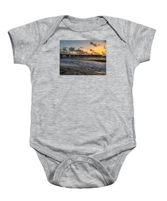 Pier Waves Baby Onesie