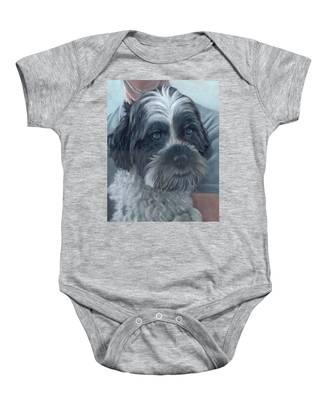 Portrait Of Charley Baby Onesie