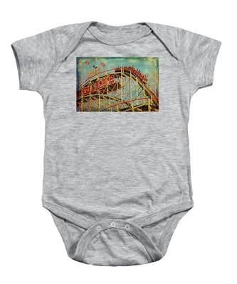 Riding The Cyclone Baby Onesie