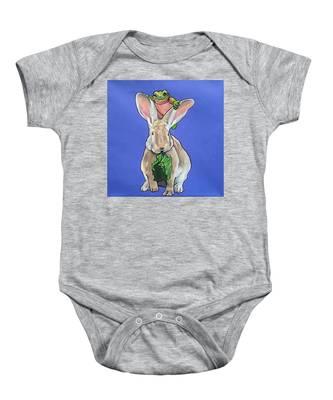 Ronnie The Rabbit Baby Onesie