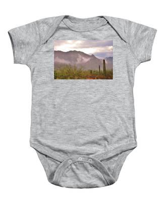 Santa Catalina Mountains II Baby Onesie