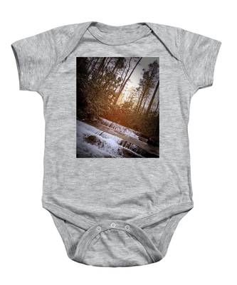 Stair Step Falls Table Rock South Carolina Baby Onesie