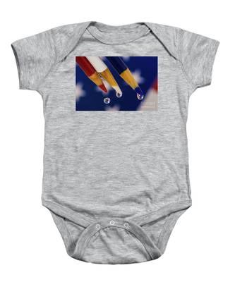 Stars And Stripes Baby Onesie