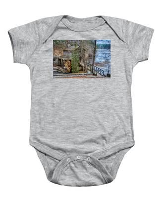 Stone Mountain Park In Atlanta Georgia Baby Onesie