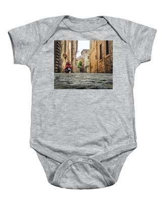 Streets Of Italy Baby Onesie