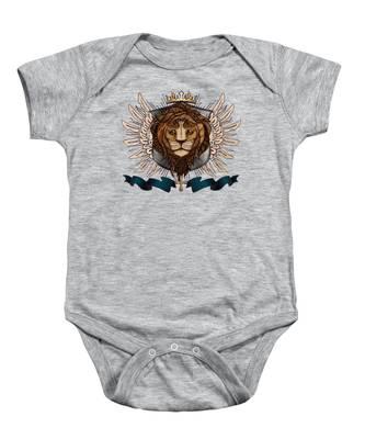 The King's Heraldry II Baby Onesie