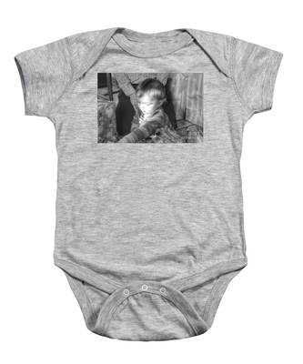 The Light That Shines Baby Onesie