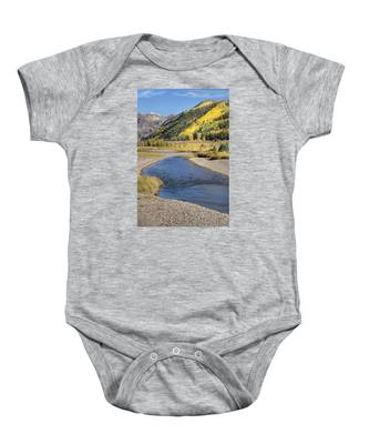 The San Miguel In Autumn Baby Onesie