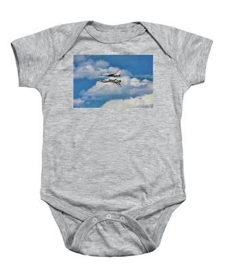 Thunderbirds Inverted Baby Onesie