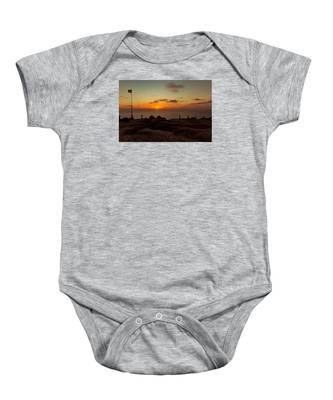 Torrey Pine Glider Port Sunset Baby Onesie
