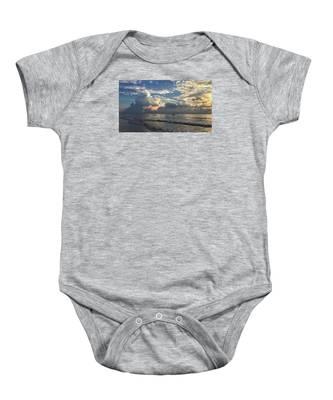 Tranquil Fisherman Baby Onesie