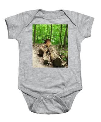 Tree Down Baby Onesie