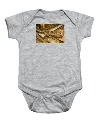 Twisted Root Baby Onesie
