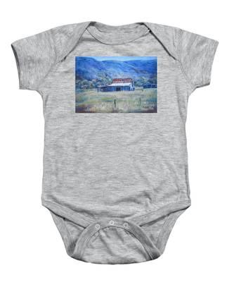 Warby Hut Baby Onesie