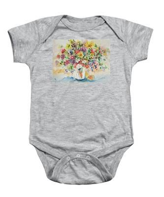 Watercolor Series 33 Baby Onesie