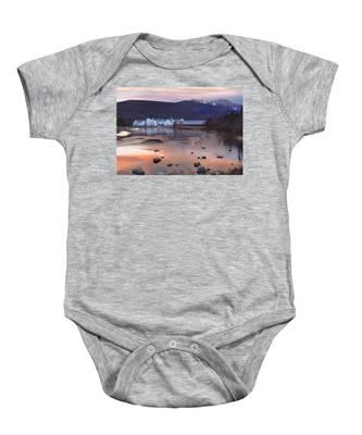 Waterville Valley Sunset Baby Onesie