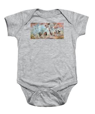 Wild Brumbies Baby Onesie