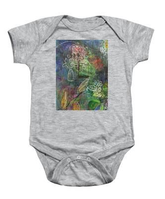 Wildflower Baby Onesie