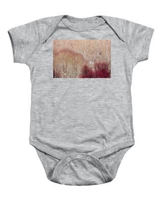 Willows In Winter Baby Onesie