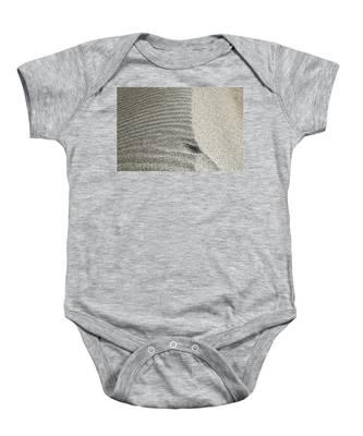 Wind Pattern Baby Onesie