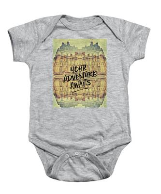 Your Adventure Awaits France Fontainebleau Chateau French Archit Baby Onesie