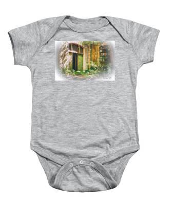 Abandoned House Baby Onesie