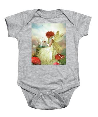 Butterfly Painter Baby Onesie