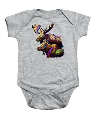 Moose Drool Baby Onesies