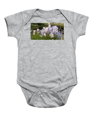Cotton Grass Baby Onesie