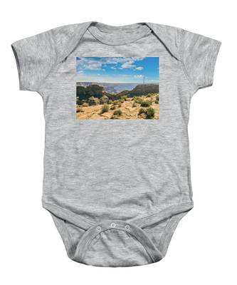 Eagle Rock, Grand Canyon. Baby Onesie