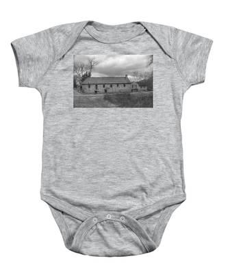 Grey Skies Over Fieldstone - Waterloo Village Baby Onesie