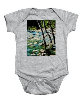 Gushing Waters Baby Onesie