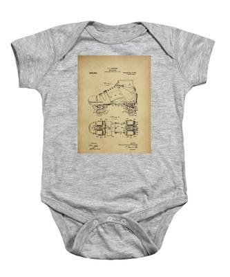 J. L. Plimpton, Roller Skate, Patented Dec.8,1908. Baby Onesie