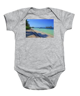 Jetty On Isla Contoy Baby Onesie