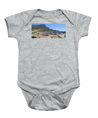 Lava Rocks Of Balos Baby Onesie