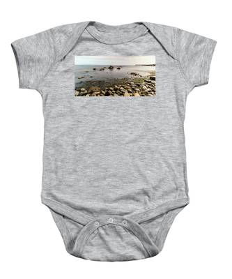 Out Going Tide Baby Onesie