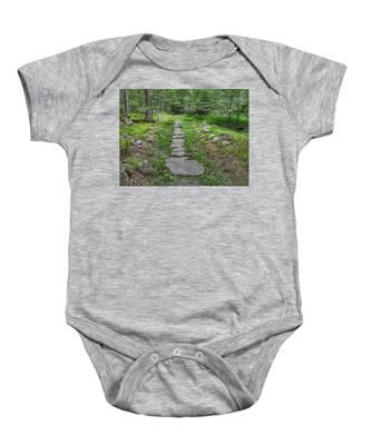 Stepping Stone Path - Kinnelon Baby Onesie