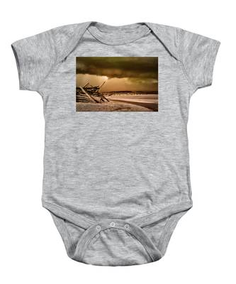 Storm Brewing Baby Onesie
