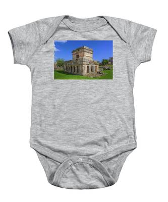 Temple Of The Frescoes Baby Onesie
