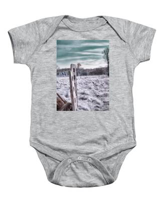 Two Posts Baby Onesie