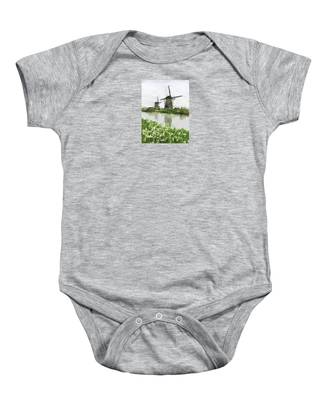 Windmills Baby Onesie