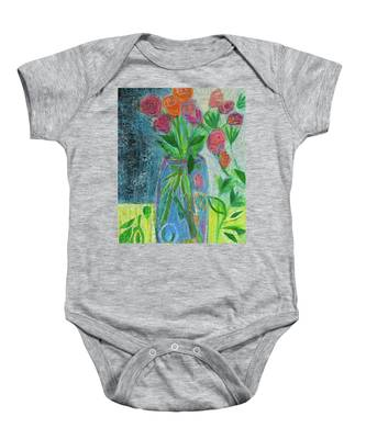 A-rose-atherapy Baby Onesie