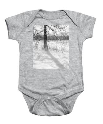 Winter Simple Baby Onesie