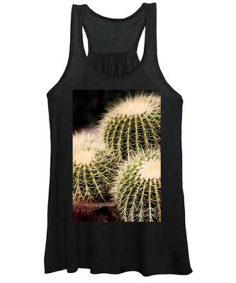 Triple Cactus Women's Tank Top