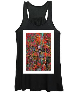 Women's Tank Top featuring the photograph Abstracted Mummer by Alice Gipson
