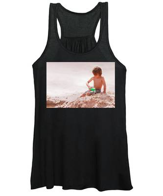 Women's Tank Top featuring the photograph Castlemaker by Alice Gipson