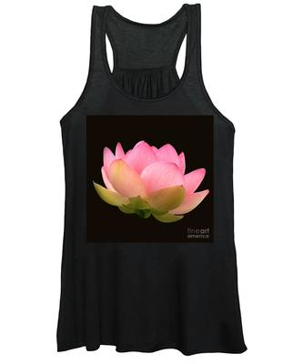 Glowing Lotus Square Frame Women's Tank Top