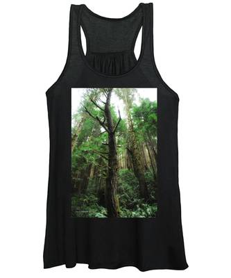 Groovin With The Redwoods Women's Tank Top