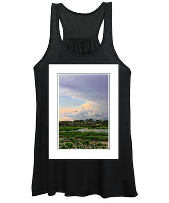 Women's Tank Top featuring the photograph Intracoastal Colours by Alice Gipson